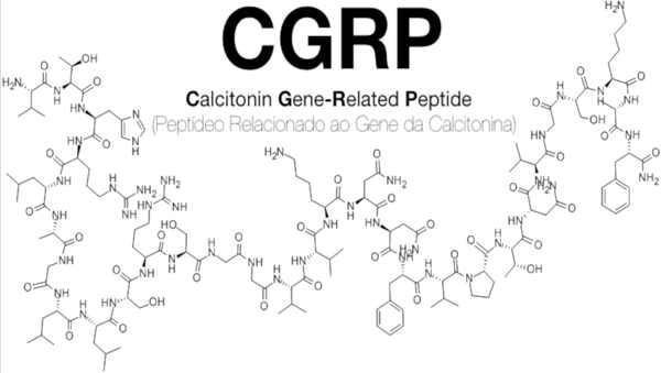 Fórmula Molecular do CGRP